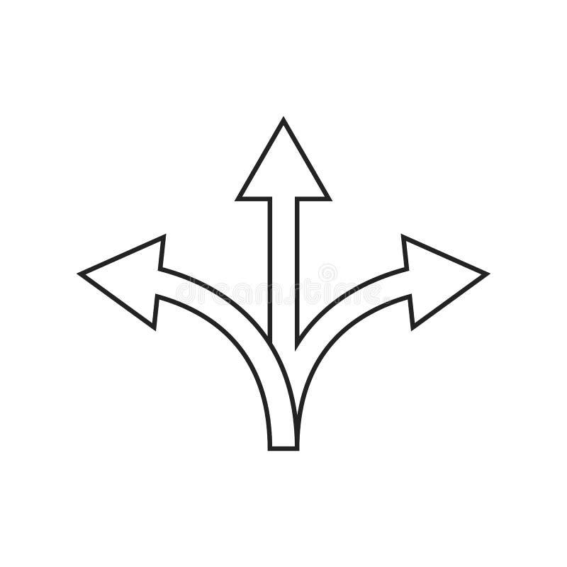 Icona di flessibilità su fondo bianco, illustrazione eps10 illustrazione vettoriale