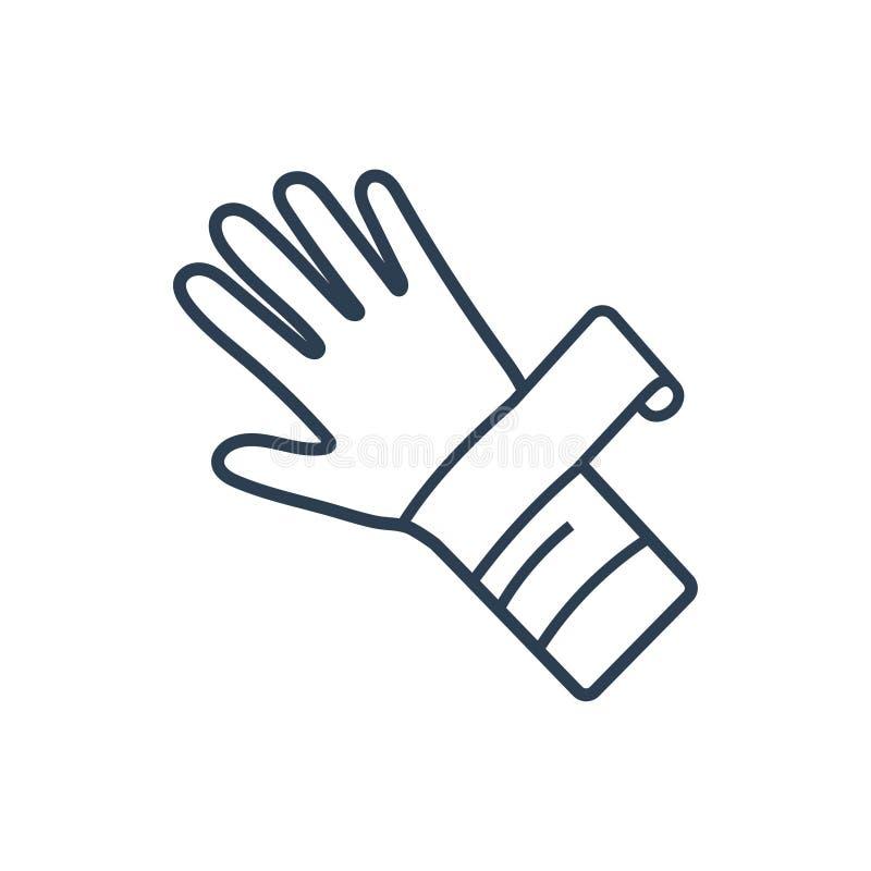 Icona di frattura del braccio royalty illustrazione gratis