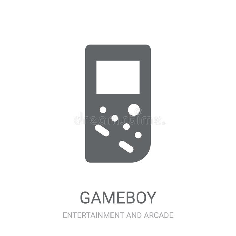 Icona di Gameboy  illustrazione di stock