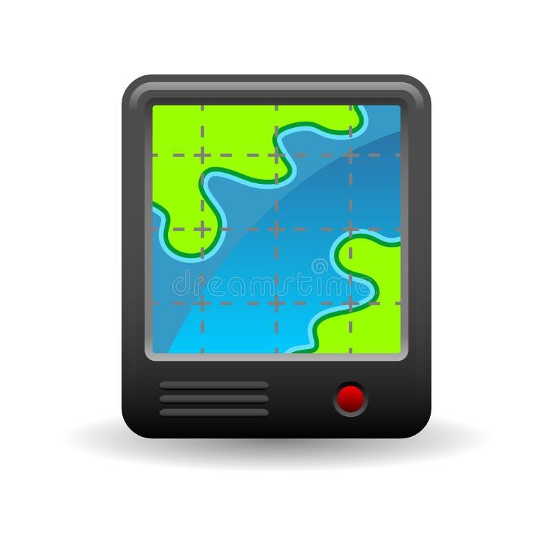 Icona di GPS illustrazione di stock
