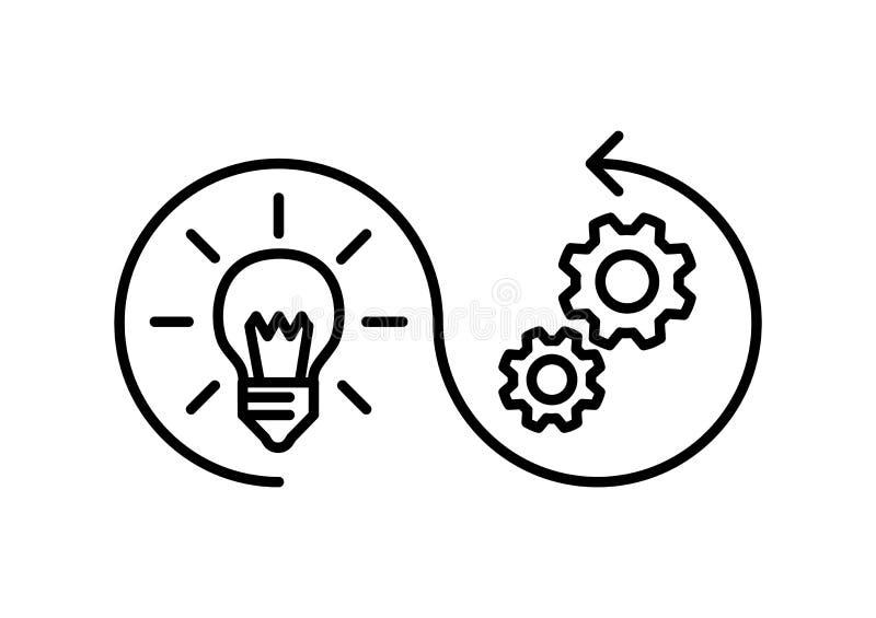 Icona di implementazione, illustrazione di vettore royalty illustrazione gratis