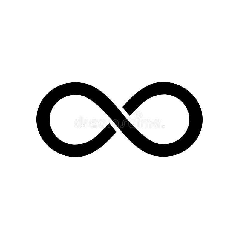 Icona di infinito Vettore illustrazione vettoriale
