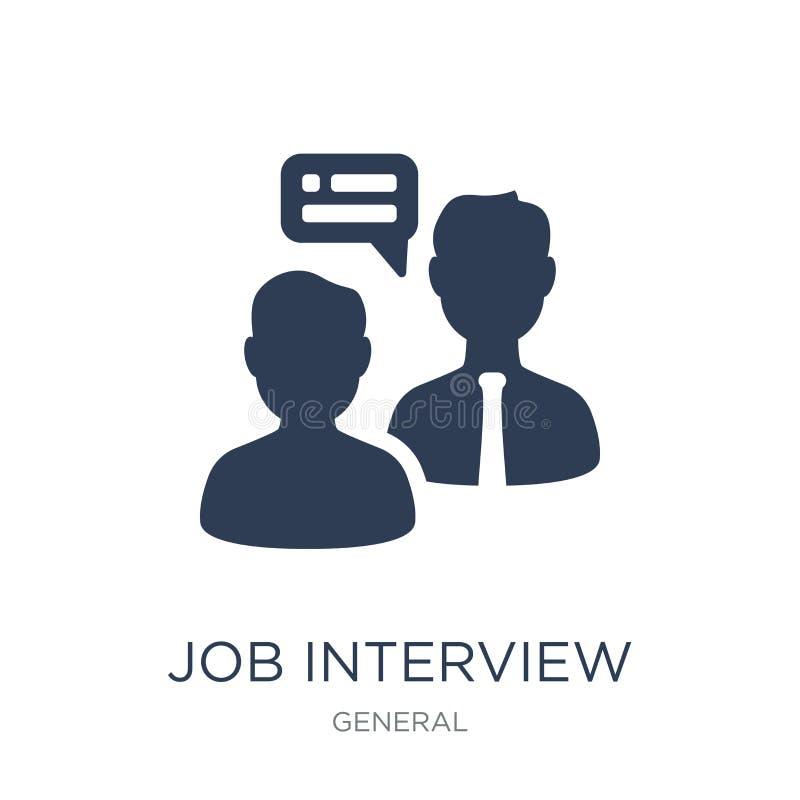 Icona di intervista di lavoro  royalty illustrazione gratis