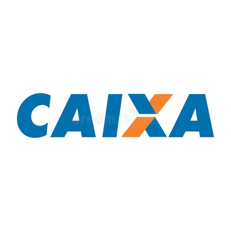 Icona di logo di CAIXA illustrazione di stock