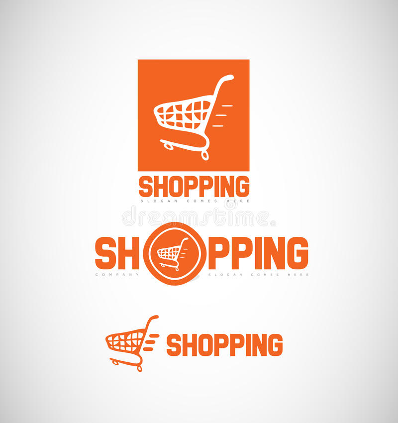 Icona di logo del carrello royalty illustrazione gratis