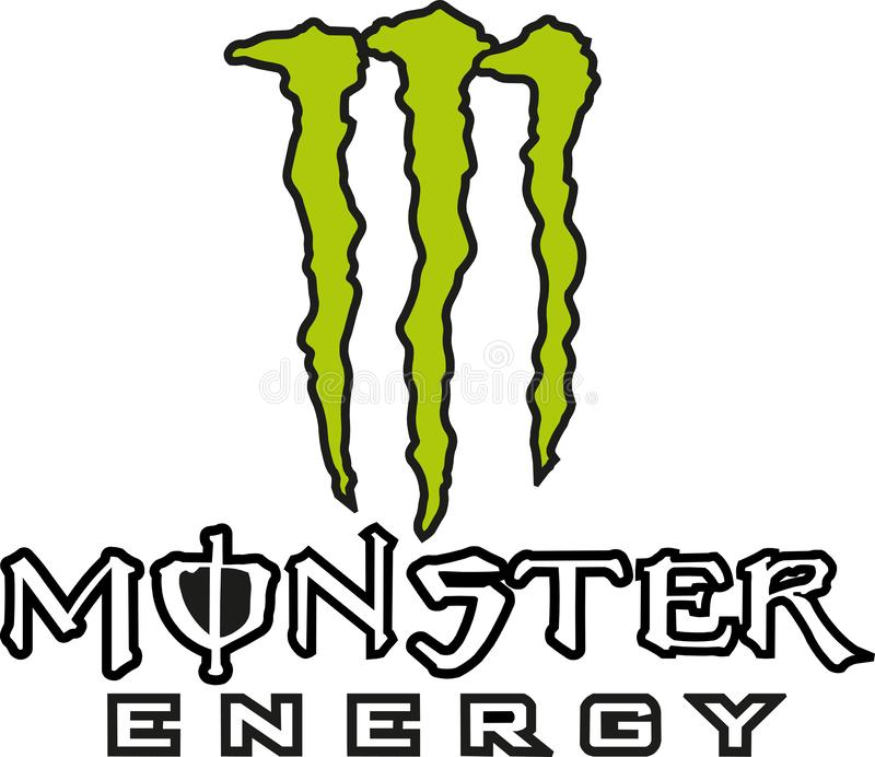 Icona di logo di energia del mostro