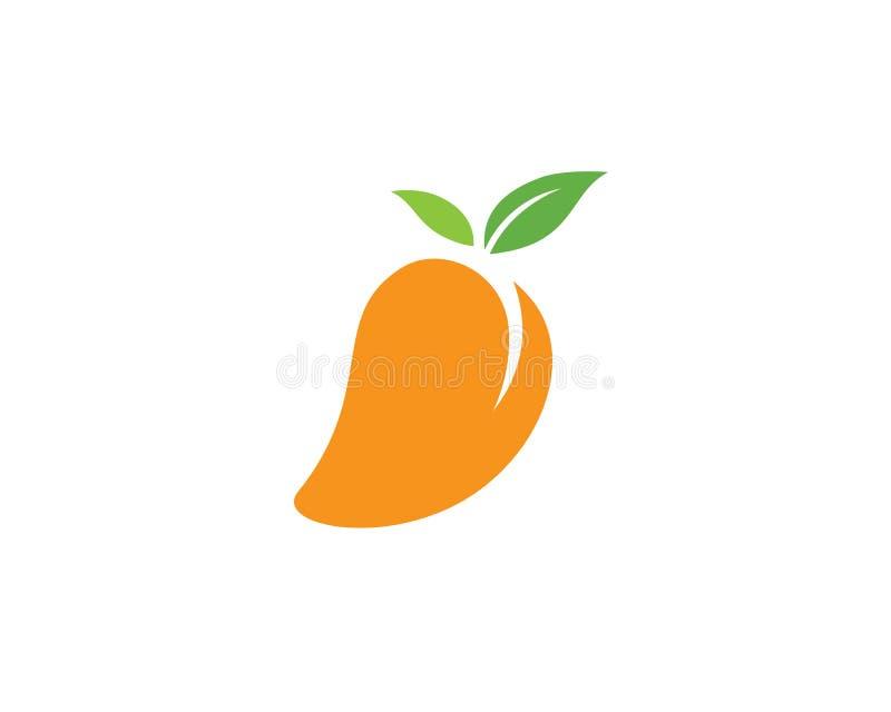 Icona di logo di vettore del mango royalty illustrazione gratis