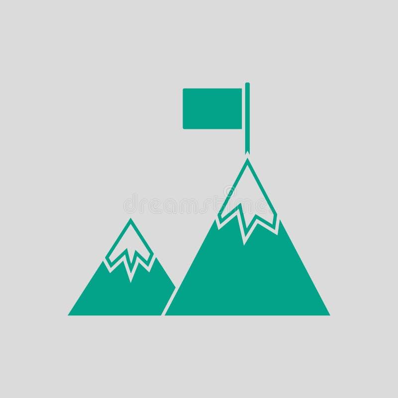 Icona di missione illustrazione di stock