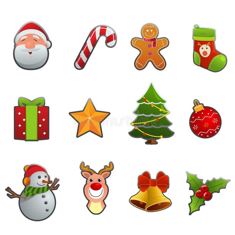 Icona di Natale illustrazione vettoriale