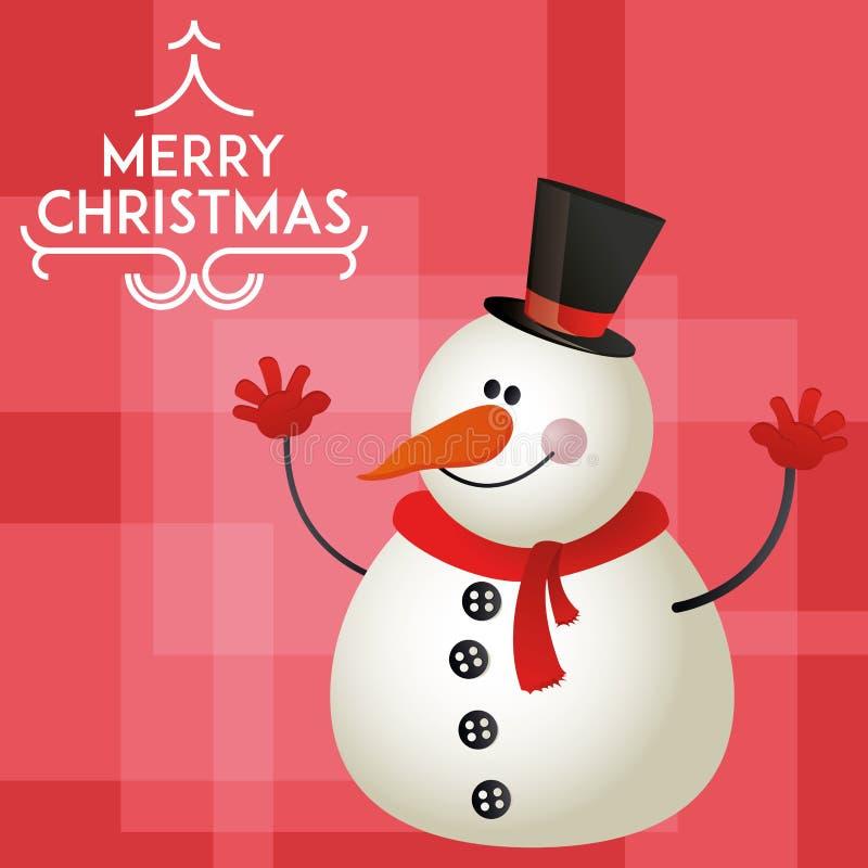 Icona di Natale illustrazione di stock