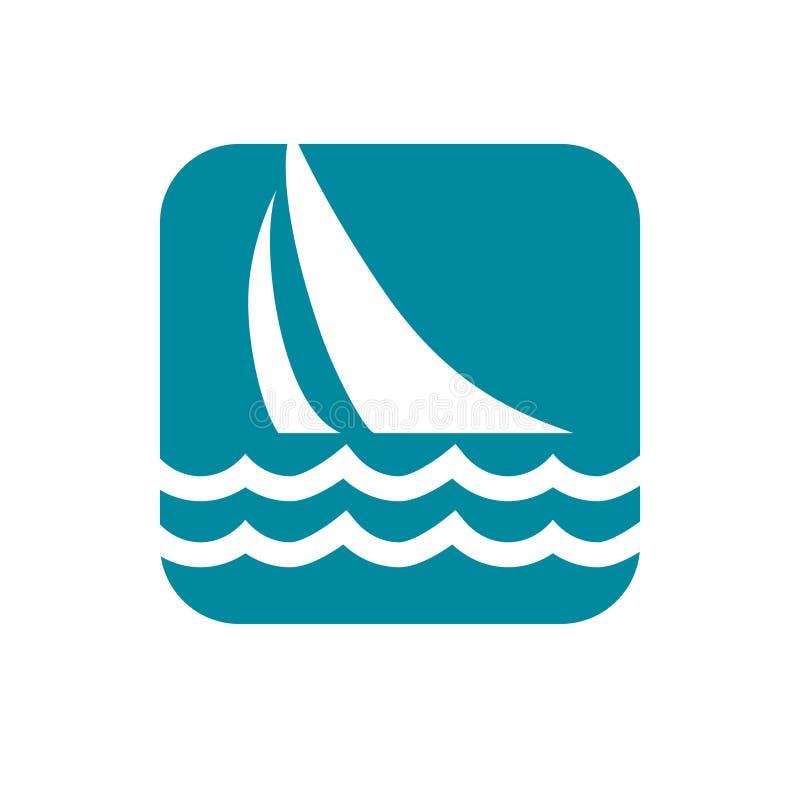 Icona di navigazione nessuna 6 illustrazione di stock