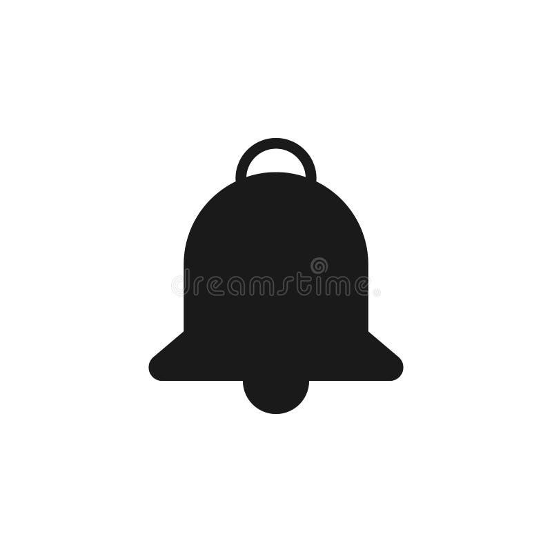 icona di notifica del sito Web dell'utente I segni ed i simboli possono essere usati per il web, logo, app mobile, UI, UX illustrazione di stock