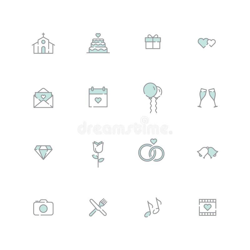 Icona di nozze royalty illustrazione gratis