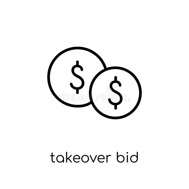 Icona di offerta pubblica di acquisto  illustrazione vettoriale