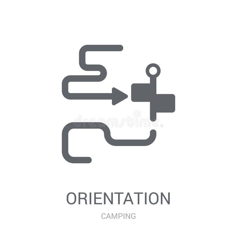 Icona di orientamento  illustrazione vettoriale