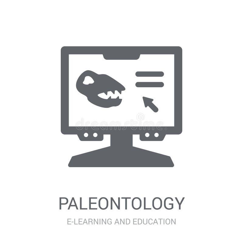 Icona di paleontologia  illustrazione vettoriale