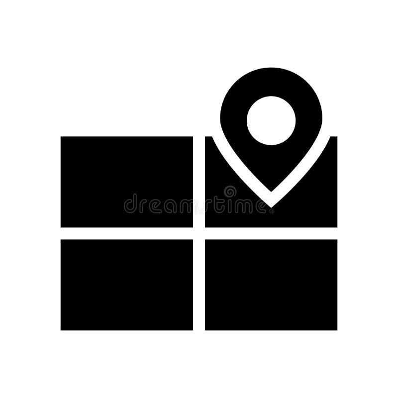 Icona di posizionamento di prodotto Concep d'avanguardia di logo di posizionamento di prodotto illustrazione di stock