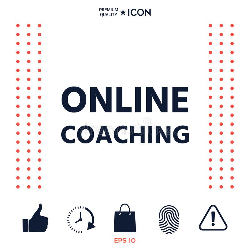 Download Icona Di Preparazione Online Illustrazione Vettoriale - Illustrazione di conferenza, sviluppo: 117976120