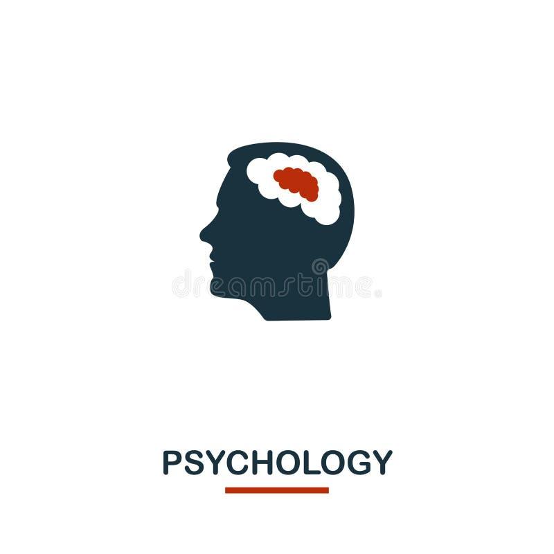 Icona di psicologia Progettazione creativa dalla raccolta delle icone di sanità Icona per web design, apps, software, stampa di p royalty illustrazione gratis