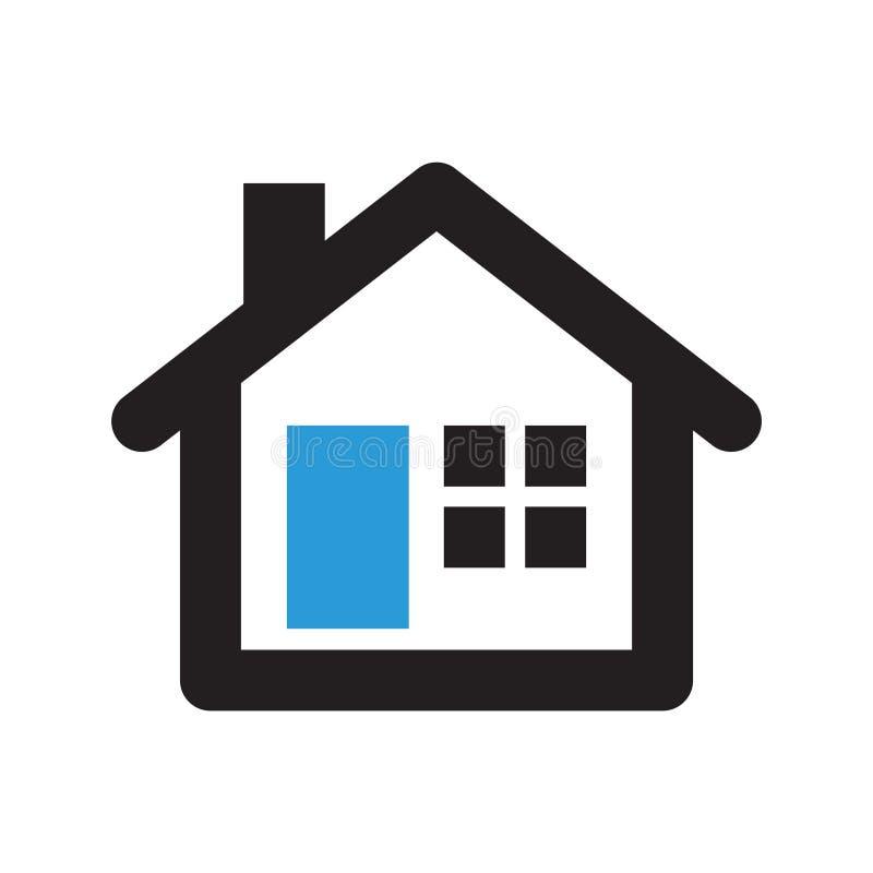 Icona di Real Estate immagine stock libera da diritti