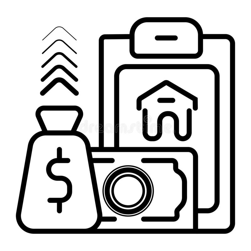 Icona di Real Estate royalty illustrazione gratis
