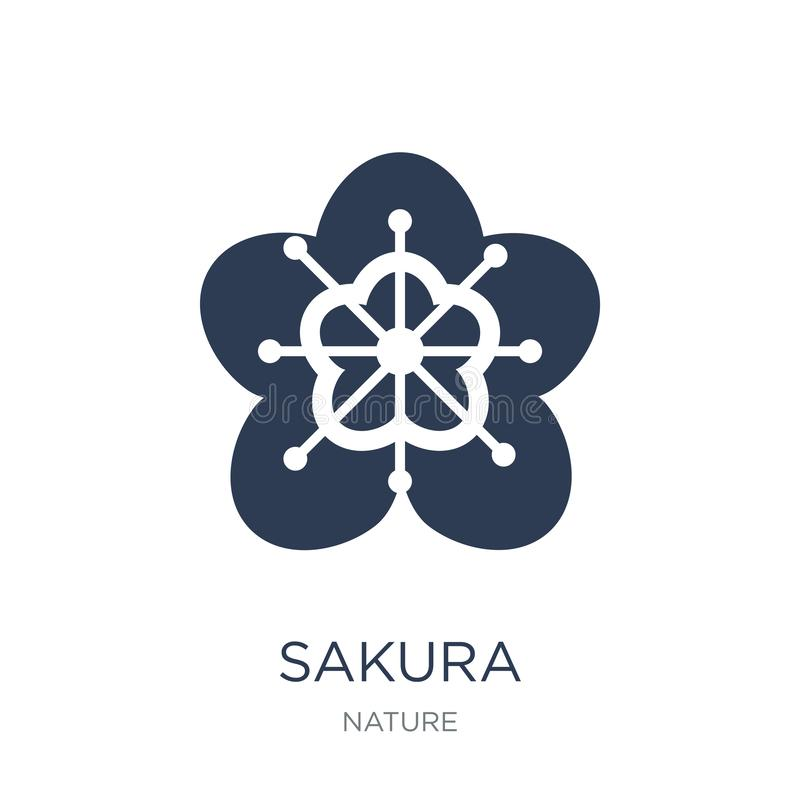 Icona di Sakura  royalty illustrazione gratis