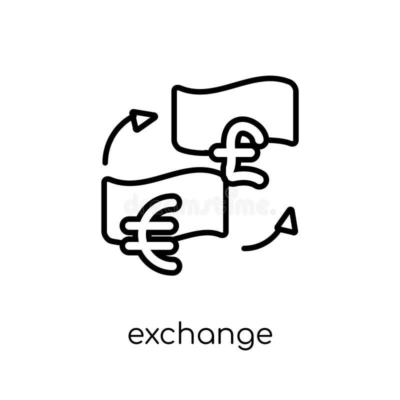 Icona di scambio  illustrazione vettoriale