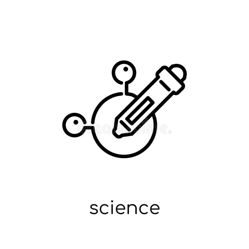 Icona di scienza dalla raccolta illustrazione di stock