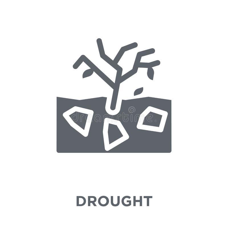 Icona di siccità dalla raccolta royalty illustrazione gratis