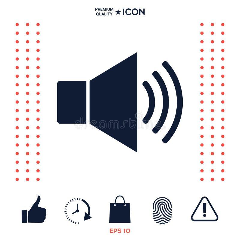 Download Icona Di Simbolo Di Web Del Volume Illustrazione Vettoriale - Illustrazione di suono, icona: 117977543