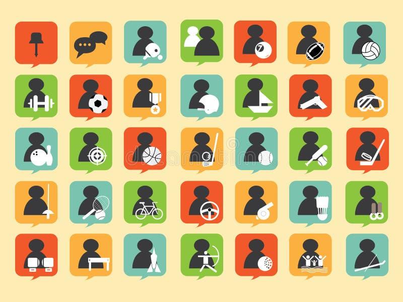 Icona di sport illustrazione vettoriale