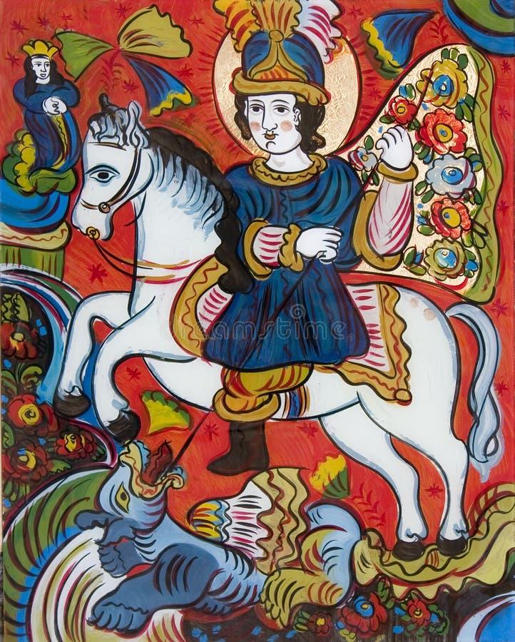 Icona di St.George immagine stock libera da diritti