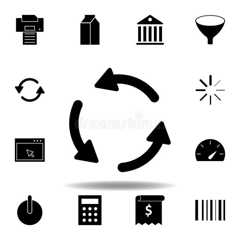 Icona di stampante I segni ed i simboli possono essere usati per il web, logo, app mobile, UI, UX illustrazione vettoriale
