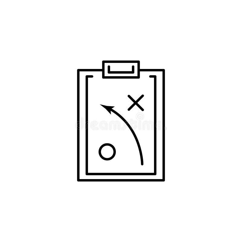 Icona di strategia Elemento dell'icona popolare di finanza Progettazione grafica di qualità premio Segni, icona per i siti Web, w illustrazione di stock