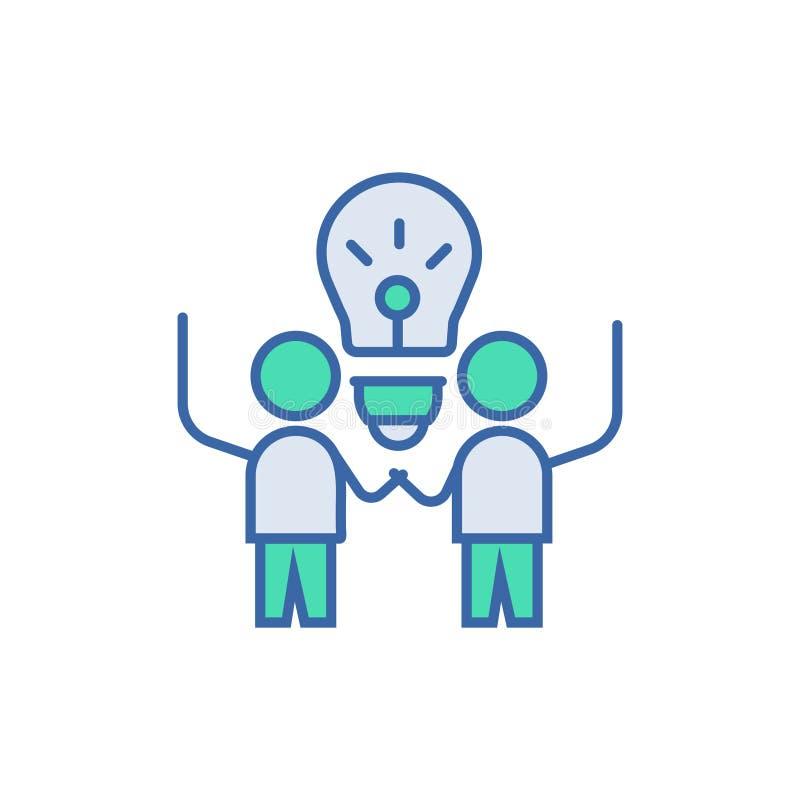 Icona di successo di affari simbolo di schema e del diagramma di vettore icona piana di successo di affari illustrazione di stock