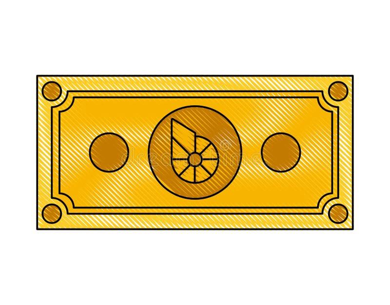 Icona di tecnologia di commercio del biteshare di Bill royalty illustrazione gratis