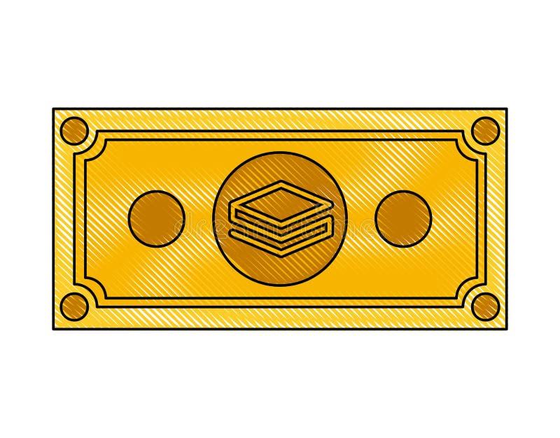Icona di tecnologia di commercio di stratis di Bill royalty illustrazione gratis