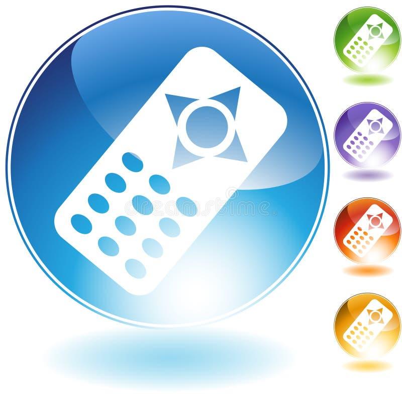 Icona di telecomando illustrazione vettoriale
