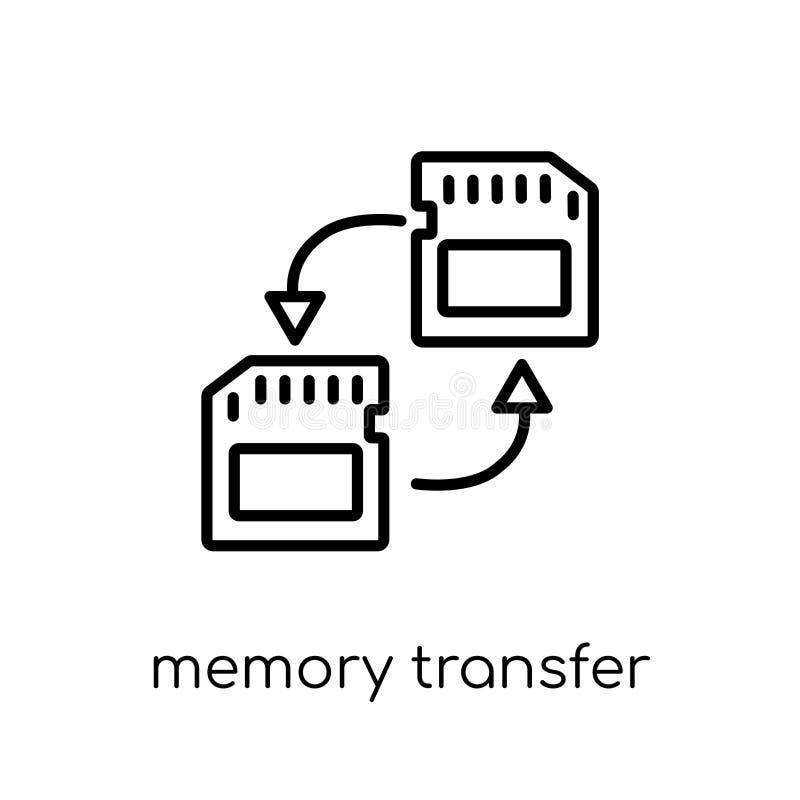 Icona di trasferimento di memoria  royalty illustrazione gratis