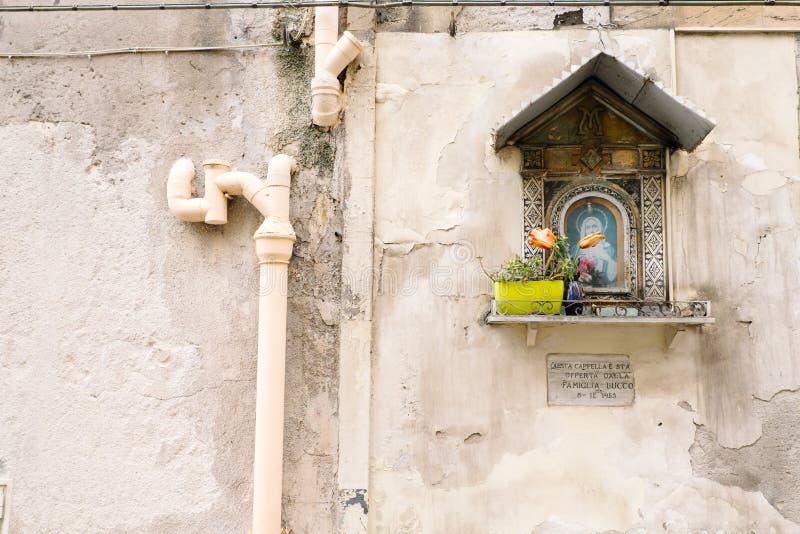 Icona di vergine Maria immagine stock
