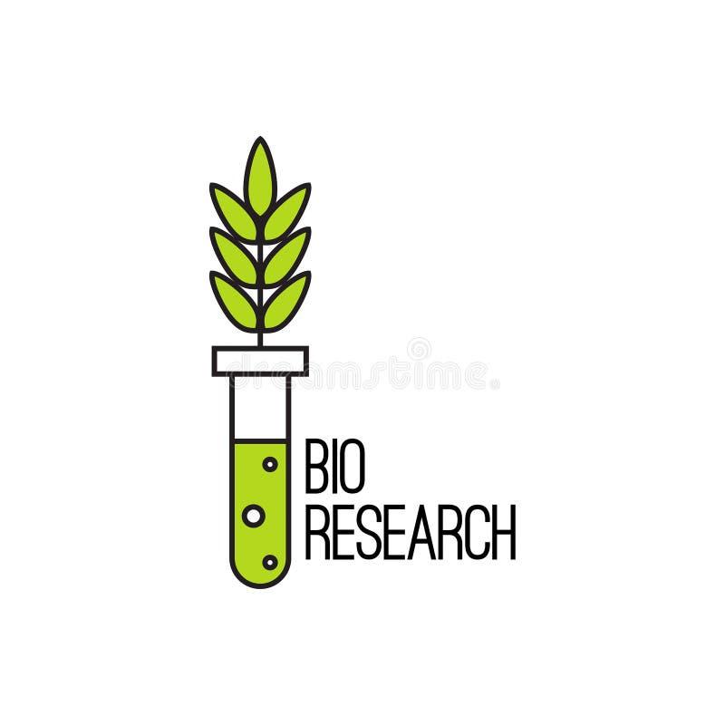 Icona di vettore con la pianta illustrazione vettoriale