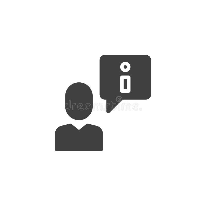 icona di vettore di consiglio di assicurazione royalty illustrazione gratis