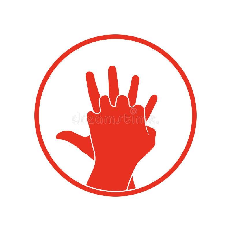 Icona di vettore di Cpr royalty illustrazione gratis