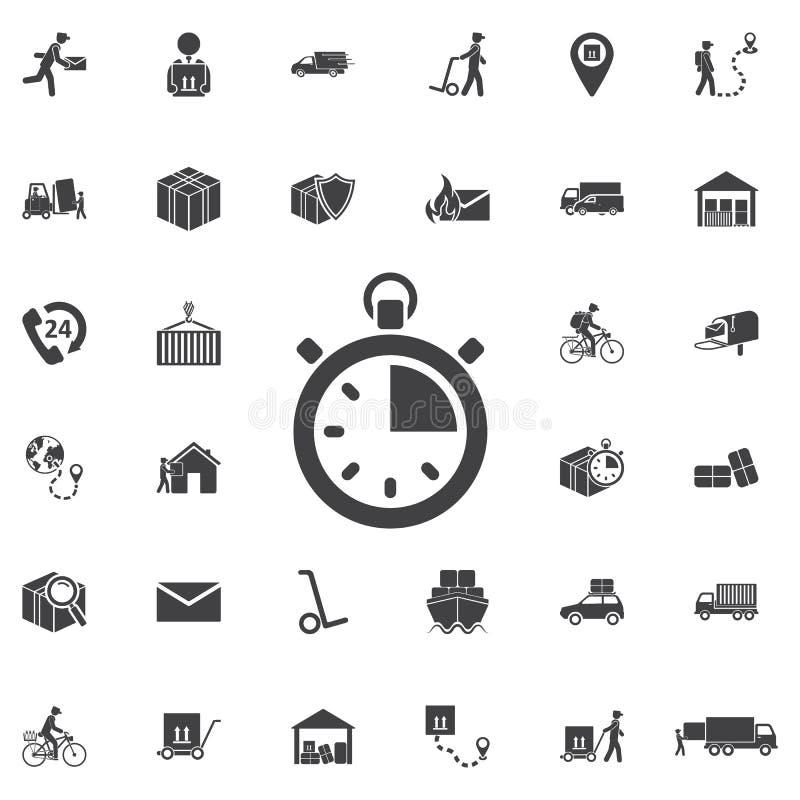 Icona di vettore del cronometro royalty illustrazione gratis