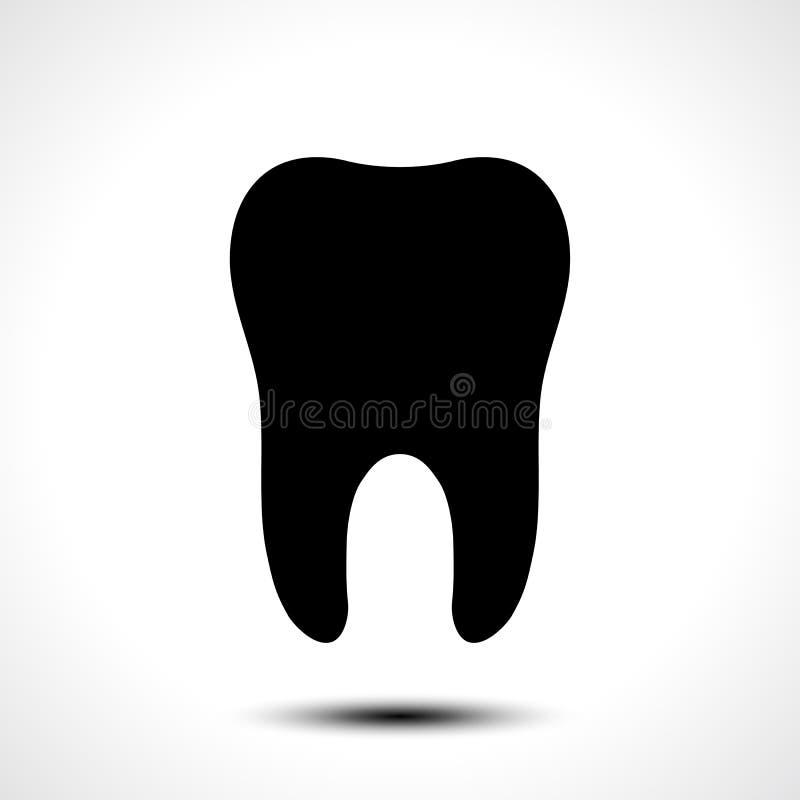 Icona di vettore del dente royalty illustrazione gratis