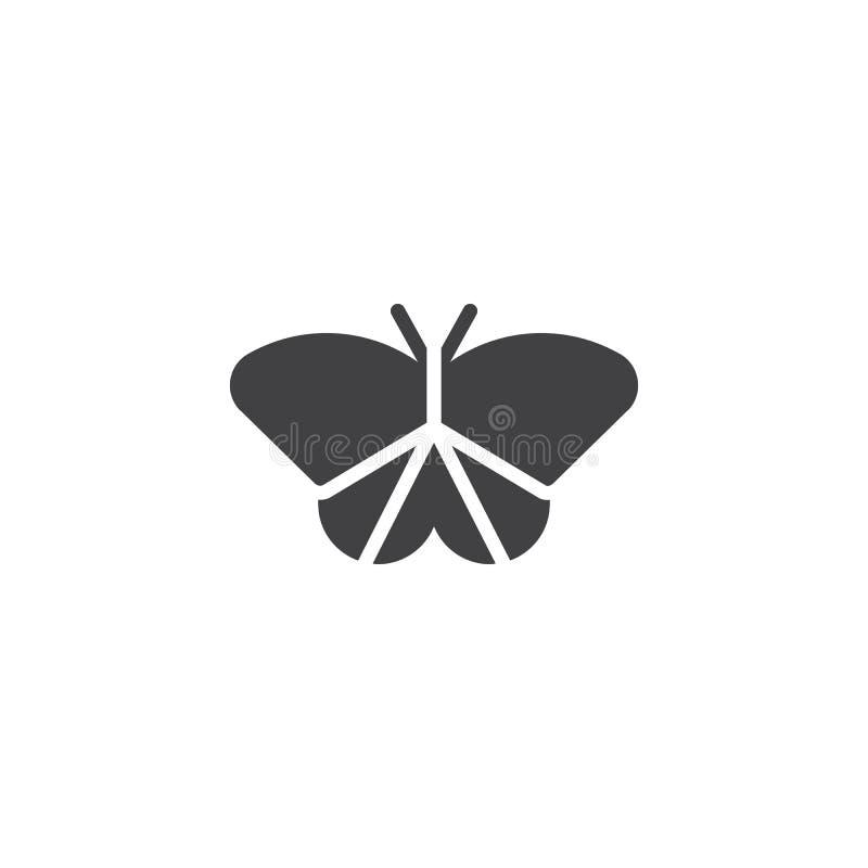 Icona di vettore del lepidottero illustrazione vettoriale