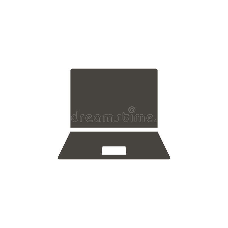 Icona di vettore del taccuino Icona semplice di vettore del illustrationNotebook dell'elemento : illustrazione vettoriale
