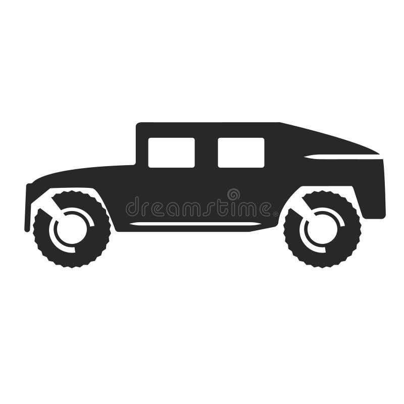 Icona di vettore dell'automobile illustrazione di stock
