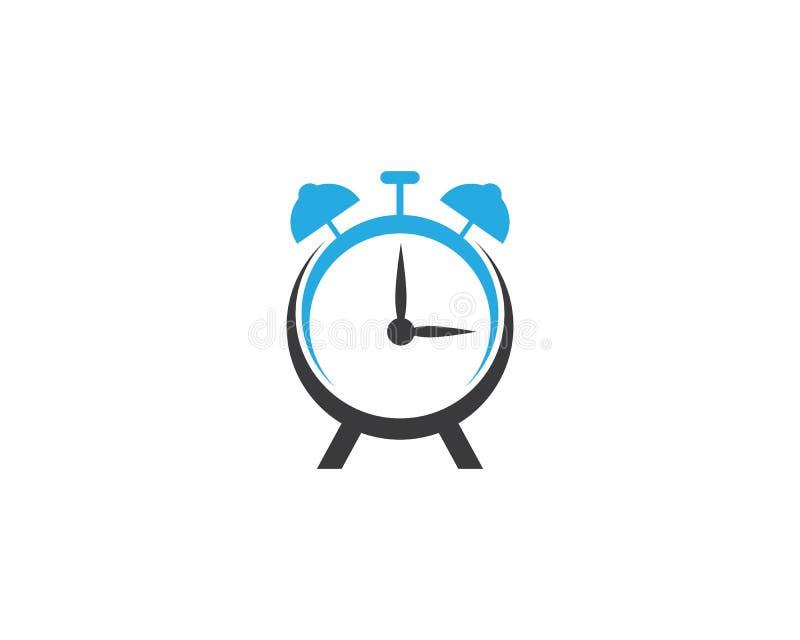 Icona di vettore dell'orologio illustrazione vettoriale
