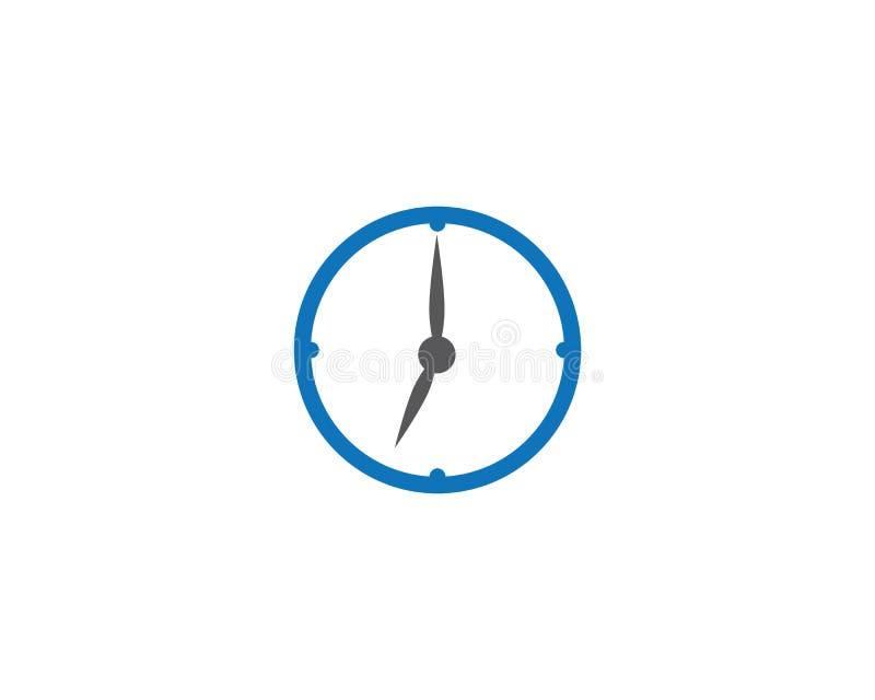 Icona di vettore dell'orologio royalty illustrazione gratis